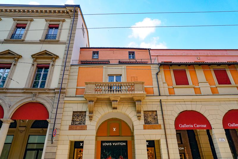 Galleria Cavour Bologna Italy
