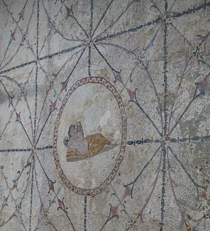 Hypnos Mosaic at Risan Montenegro