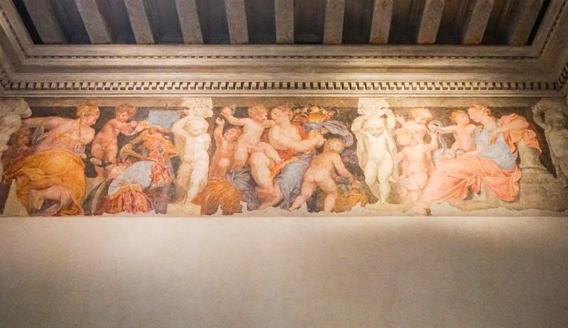 Interior Palazzo Chiericati Vicenza Italy