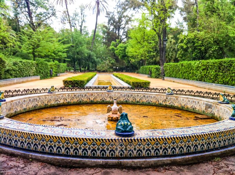 Maria Luisa Park Seville Spain