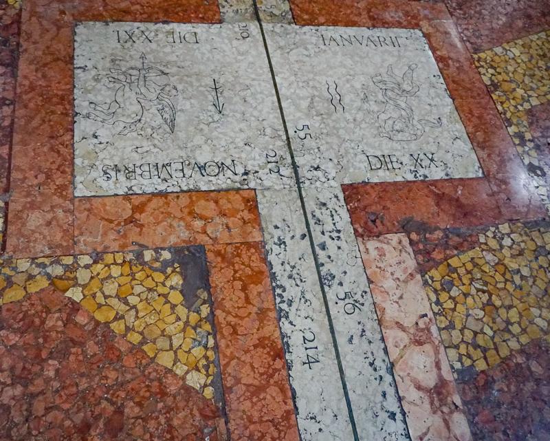 Meridian San Petronius Basilica Bologna
