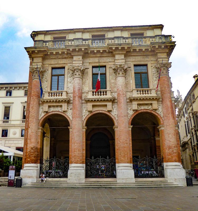 Palazzo del Capitanio Vicenza Italy