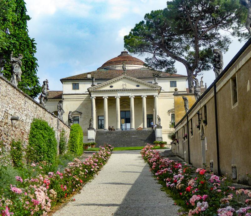 Palladio's La Rotonda in Vicenza Italy