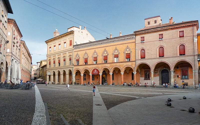 Piazza Santo Stefano Bologna Italy