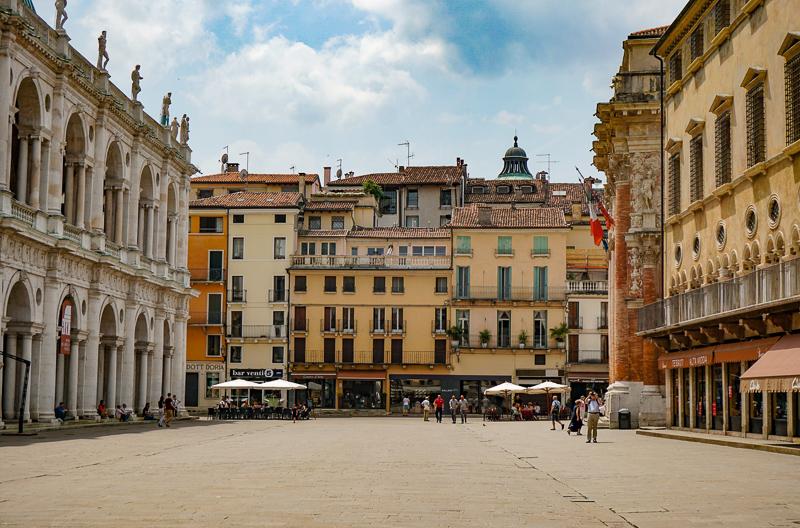 Piazza dei Signori Vicenza Italy