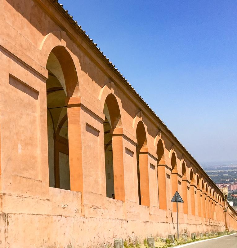Portica di San Luca Bologna Italy