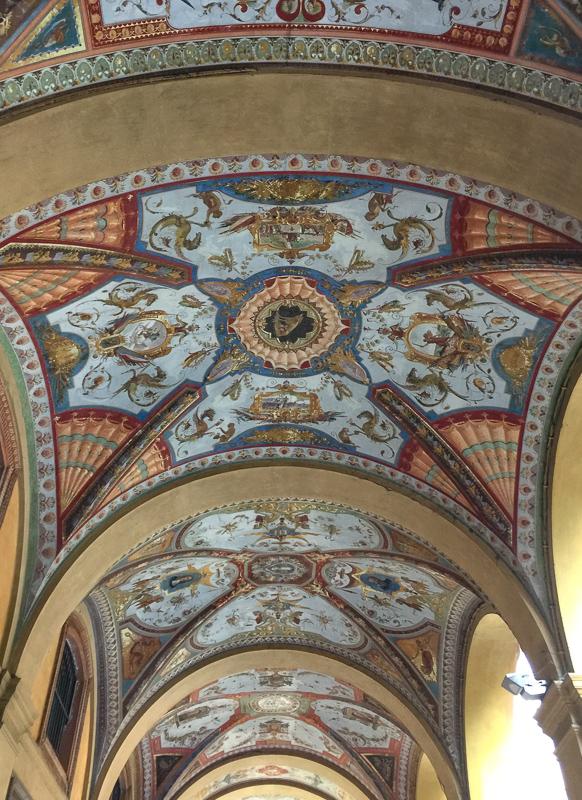 Portico Banca d'Italia Bologna Italy
