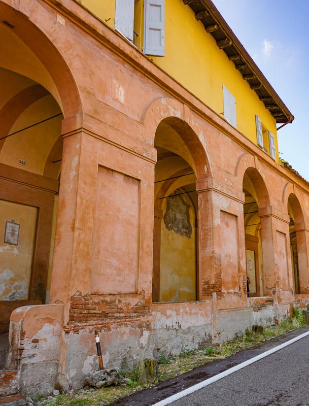 Portico of San Luca Bologna Italy