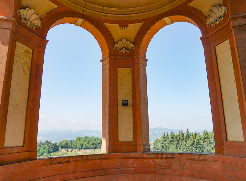 Sanctuary of the Madonna of San Luca Bologna Italy