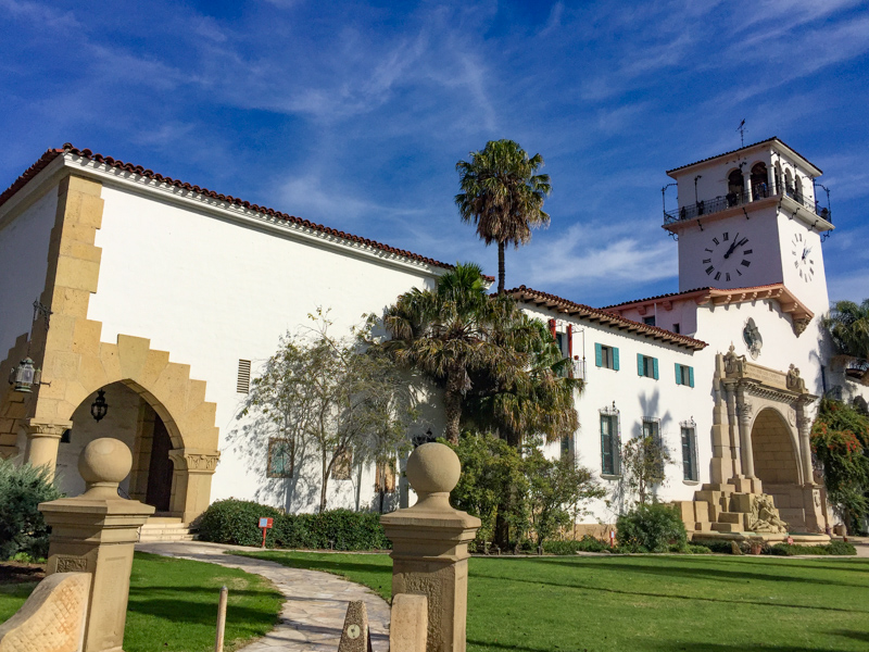Santa Barbara County Courthouse California