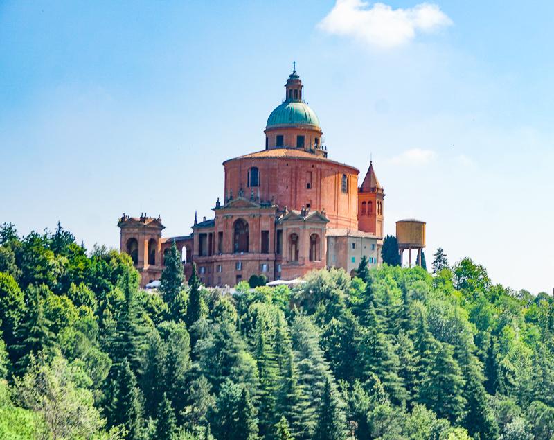 Santuario di Madonna di San Luca Bologna Italy