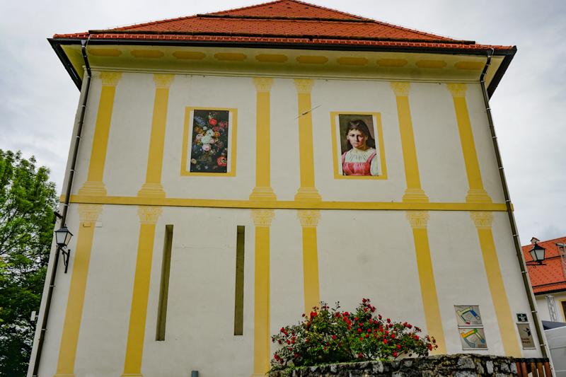 Skofja Loka Castle Museum in Slovenia