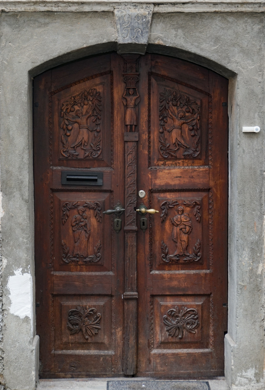 Church Door Skofja Loka