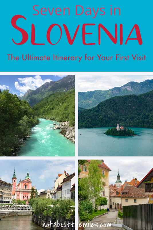 Discover the ultimate 7-day Slovenia itinerary that covers Ljubljana, Lake Bled, the Julian Alps, the Soca Valley, Piran, and more! Perfect if you enjoy history and culture, photography, cute towns, hiking, and natural beauty!