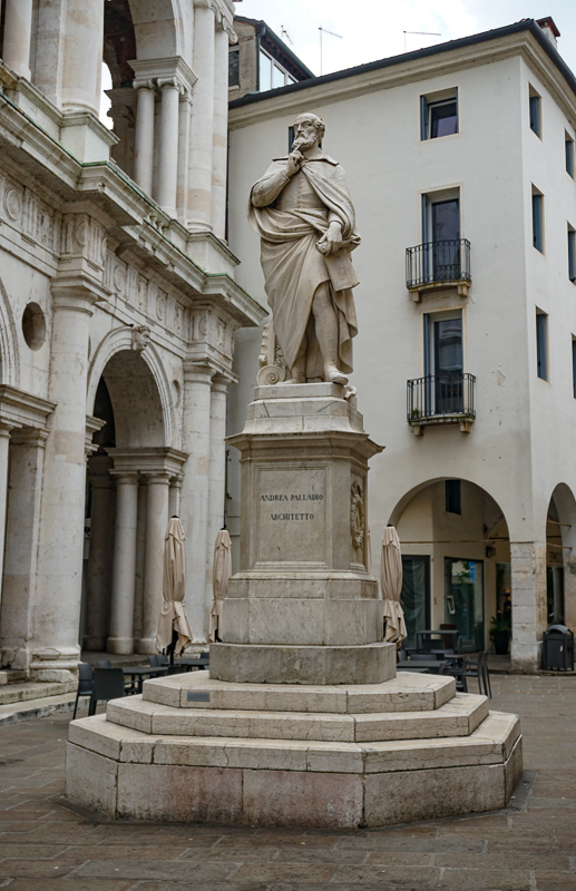 Statue of Palladio Vicenza Italy