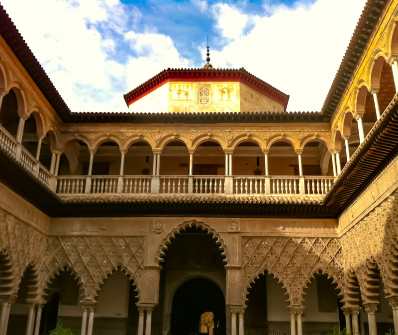 The Royal Alcazar Seville Spain