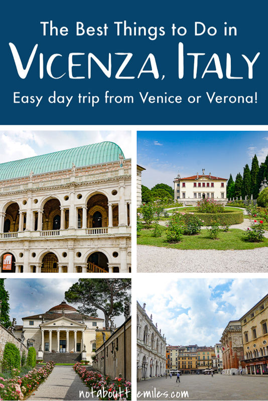Discover the best things to do in Vicenza, Italy! See Palladio's gorgeous architecture in the centro storico and the famous Villa La Rotonda!