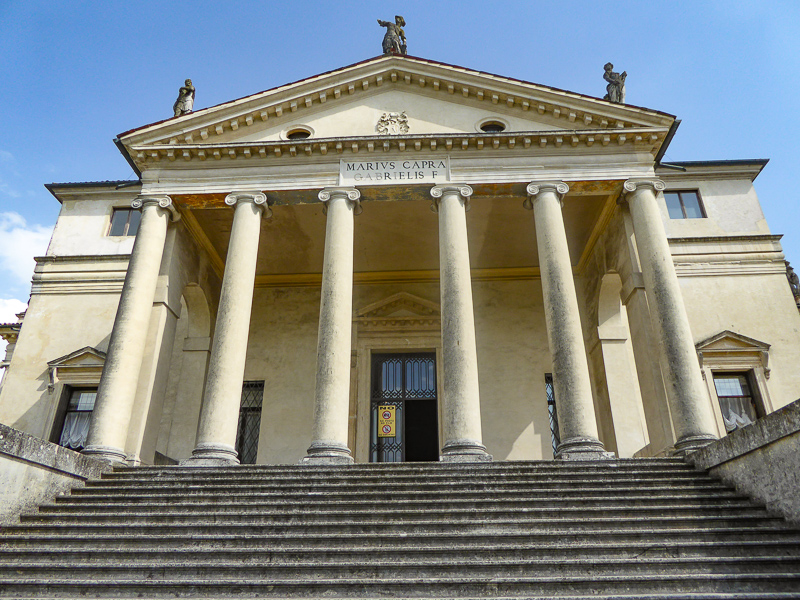 The Villa Capra in Vicenza Italy