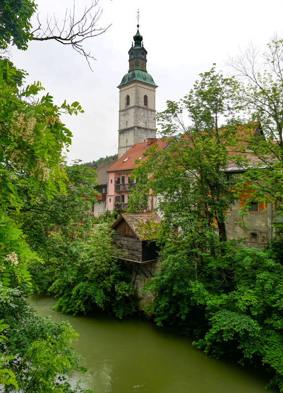 Sora River Skofja Loka Slovenia