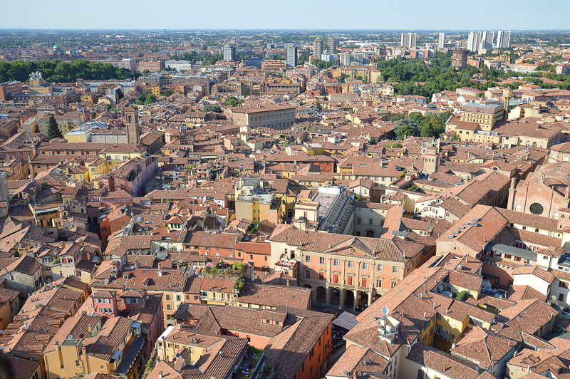 View of Bologna Italy