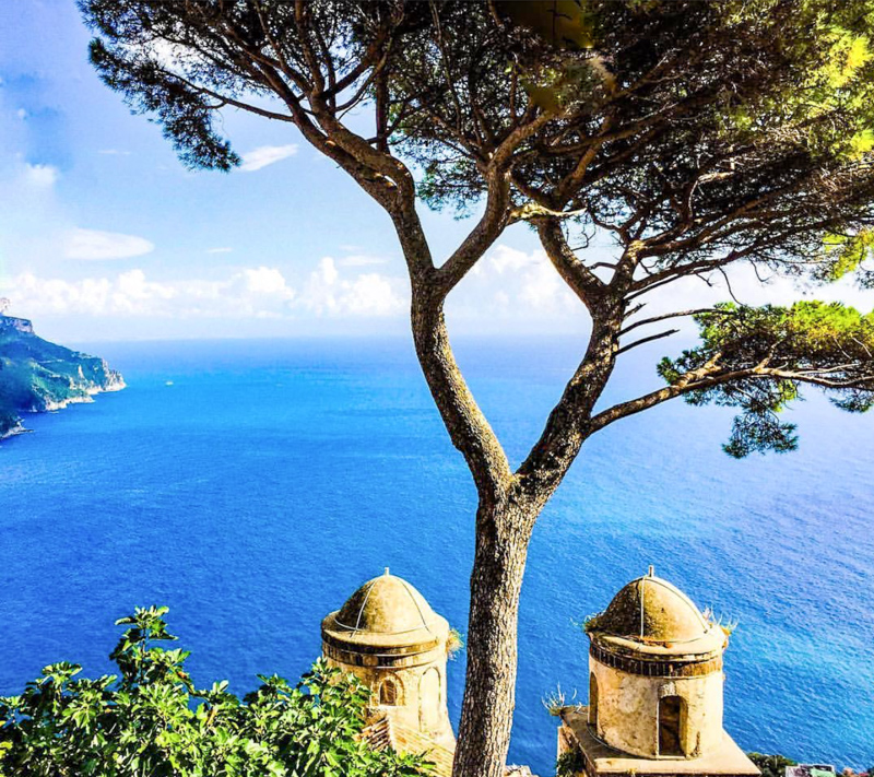 Views from Ravello Italy