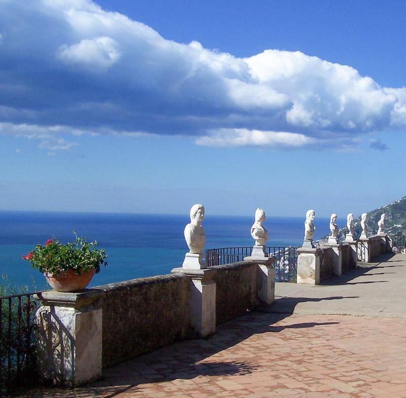 Villa Cimbrone Ravello Italy