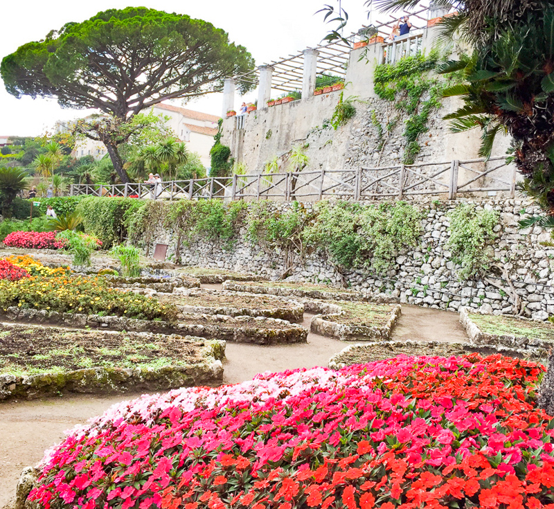 Villa Rufolo Gardens in Ravello, Italy