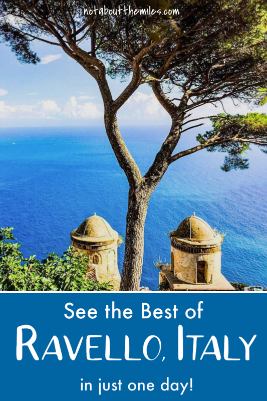The perfect itinerary for one day in Ravello on the Amalfi Coast of Italy: discover the best things to do + where to eat!