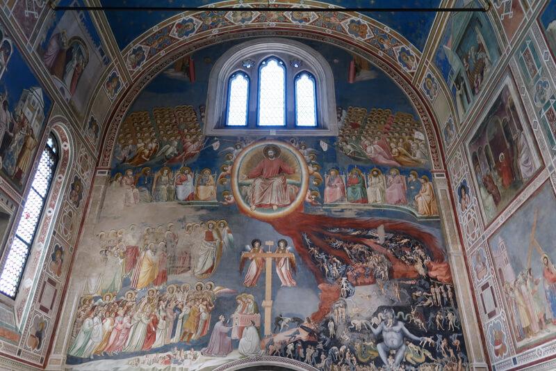Scrovegni Chapel in Padua Italy