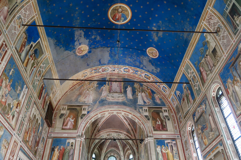 The Scrovegni Chapel Padua Italy