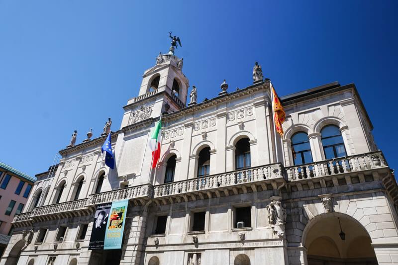 Beautiful architecture in Padua Italy