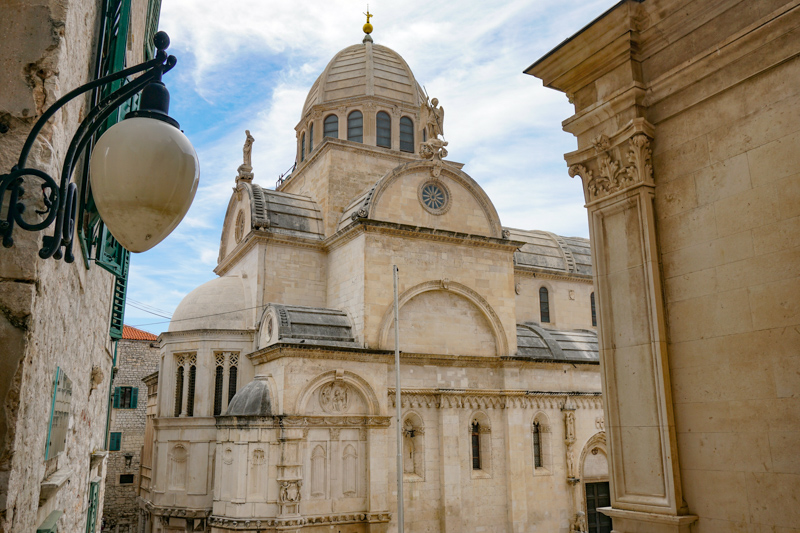 Cathedral of Saint James in Sibenik Croatia