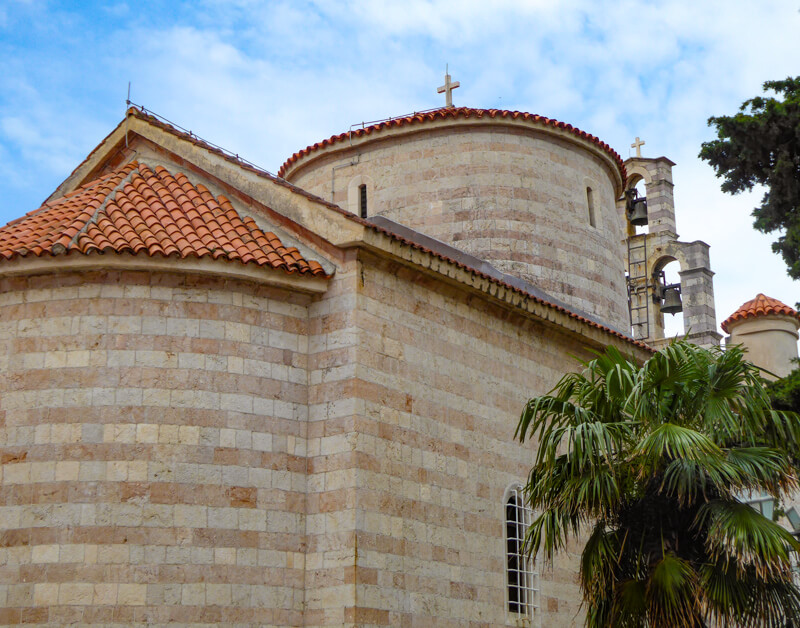 Church in Budva Montenegro