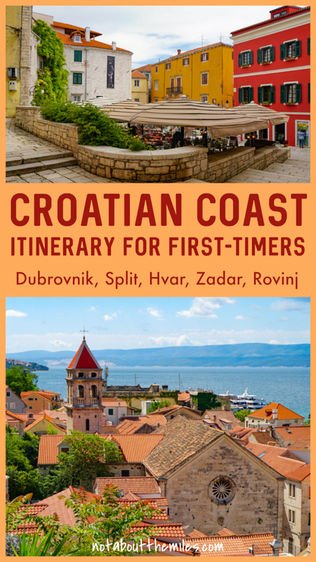 Discover the ultimate first-timers itinerary for a road trip along the stunning coast of Croatia. Visit the most amazing coastal cities, towns, and islands on this trip through Dalmatia and Istria.