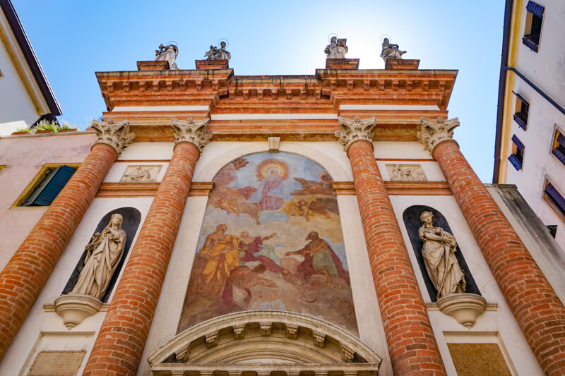 Historic Center Padua Italy