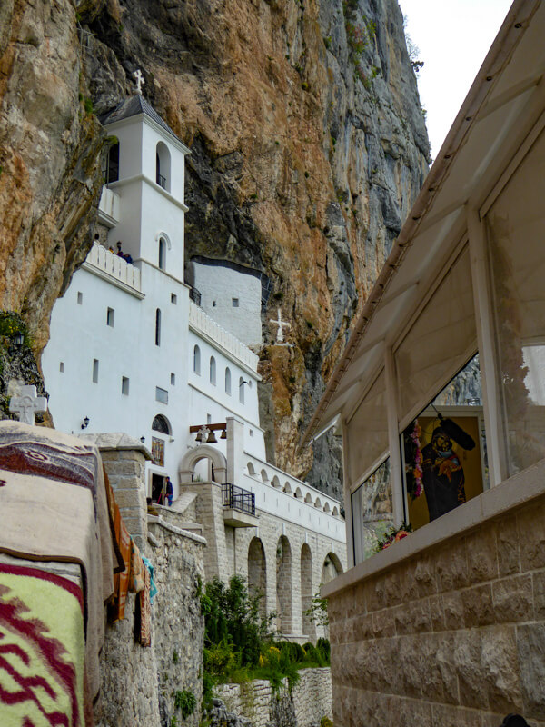 Main Shrine Ostrog Monastery Montenegro