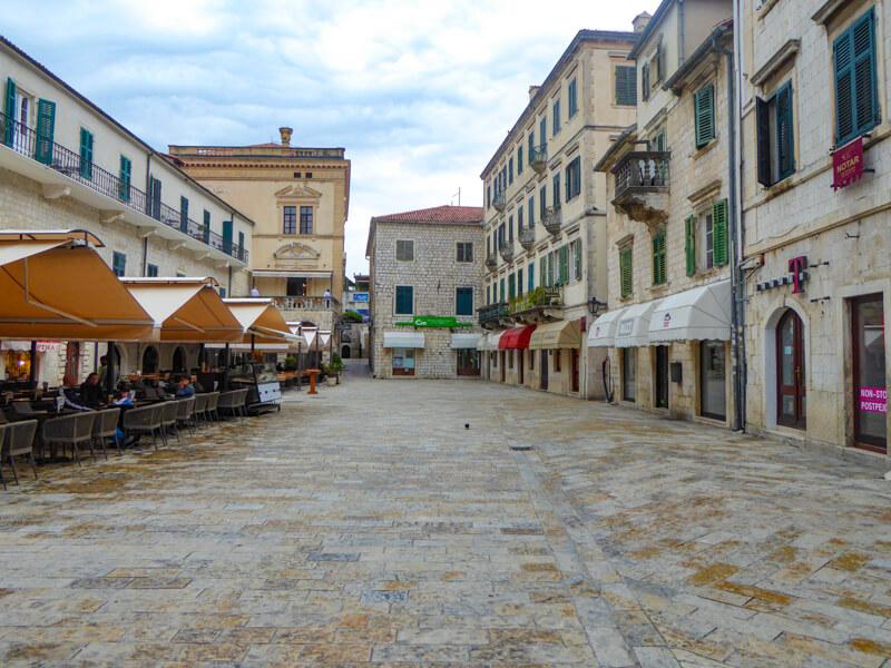 Main Square Old Town Kotor Montenegro