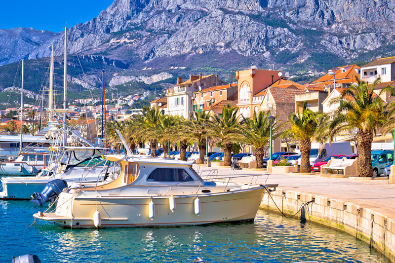 Makarska Waterfront, Croatia
