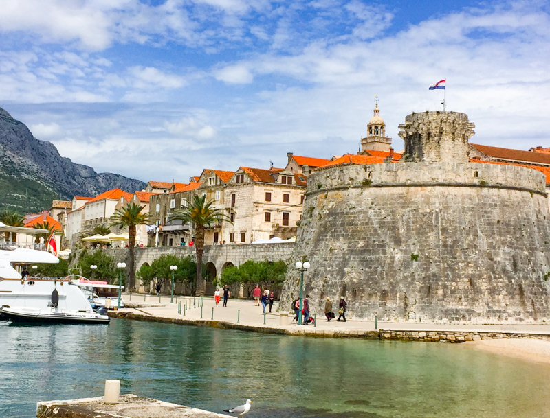 Old Town Korcula in Croatia