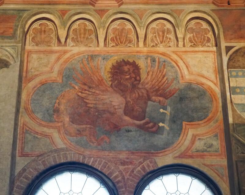 Painting Palazzo della Ragione Padua Italy