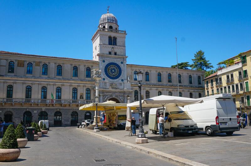Piazza dei Signori Padua Italy