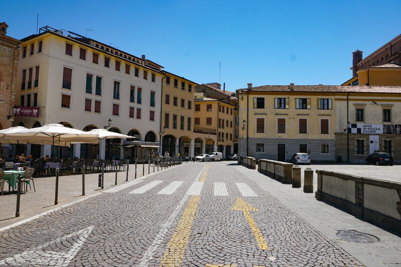 Piazza del Duomo Padua Italy
