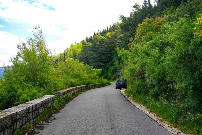 Road in Montenegro