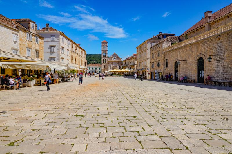 St. Stephen's Square Hvar Croatia