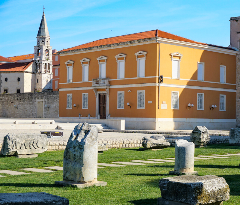 Zadar Roman Forum Croatia