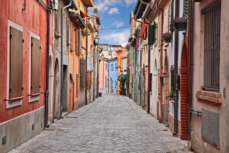 Borgo San Giuliano Rimini Italy