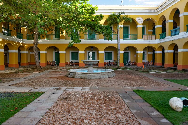 Building Old San Juan Puerto Rico