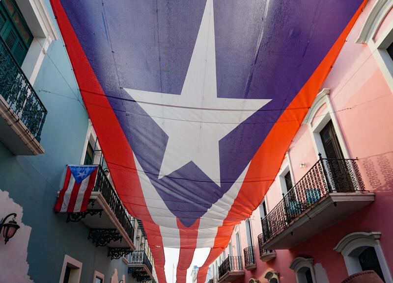 Calle de La Fortaleza San Juan Puerto Rico