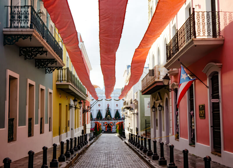 Fortaleza in Old San Juan