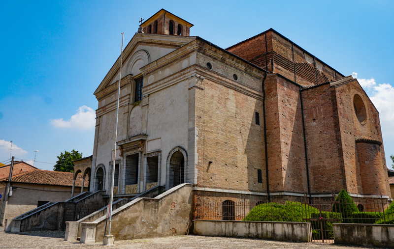 Church of San Francesco in Mantua Italy